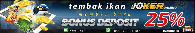 banner deposit game ikan online