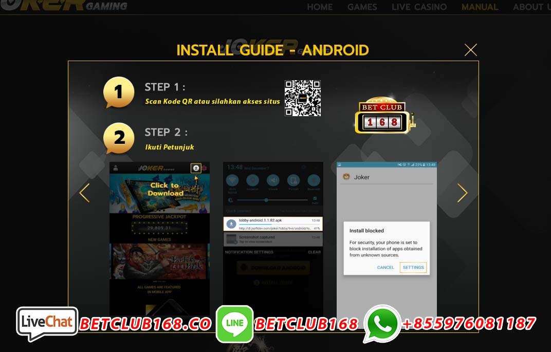 download game ikan android