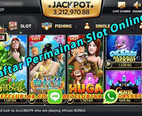 Daftar Permainan Slot Online