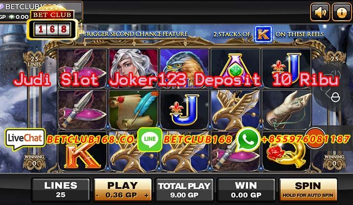 Judi Slot Joker123 Deposit 10 Ribu