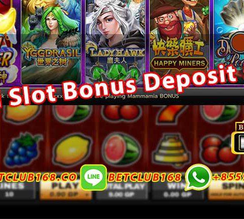 Judi Slot Bonus Deposit 50%